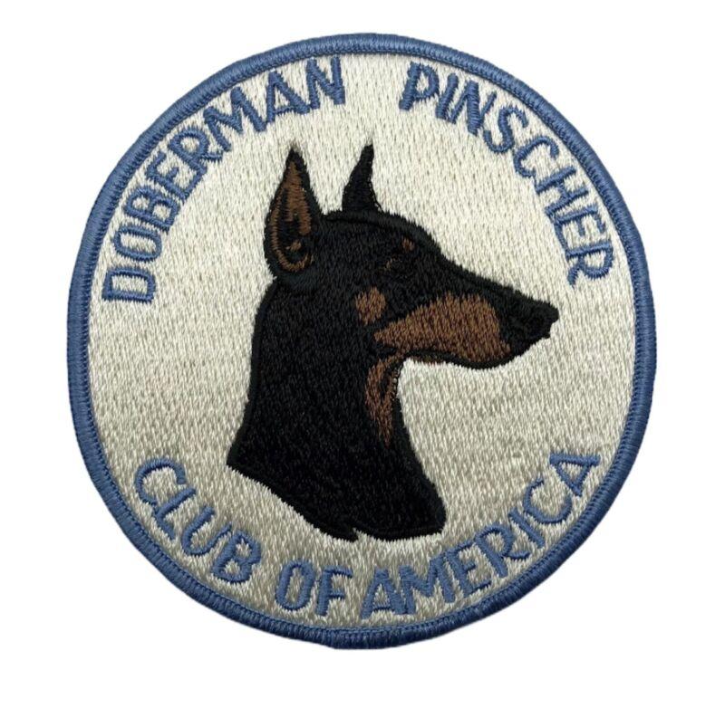Doberman Pinscher Club of America Patch Circle