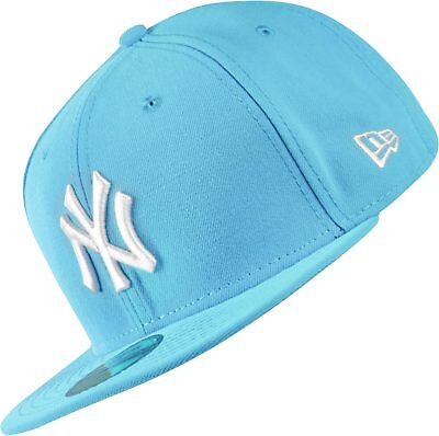 A08 NEW ERA OFFICIAL NEW YORK NY YANKEES LEAGUE BASIC Turquoise Baseball Cap