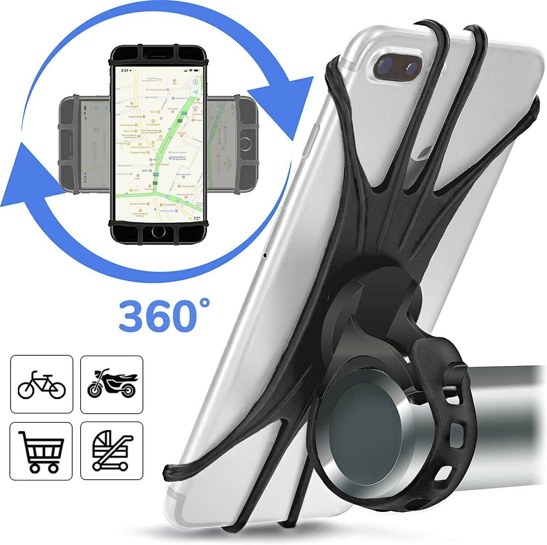 Fahrrad Handyhalterung Motorrad Smartphone Halterung Halter mit Schnellverschluß