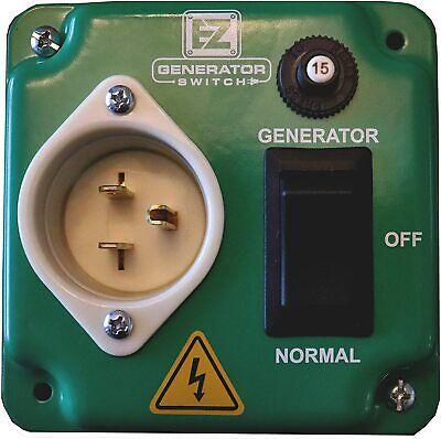 Ez Generator Switch - Generator Manual Transfer Switch Universal Ulcsa Approved