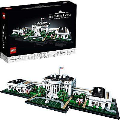LEGO Architecture 21054 - La Casa Blanca. 1483 piezas. Más de 18...