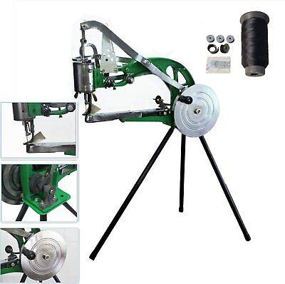Hand Cobbler Shoe Repair Sewing Machine Dual Leather Cloth Cotton Thread Nylon