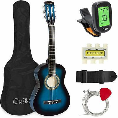 Best Choice Products 30in Kids Classical Acoustic Guitar Beginners Set w/-