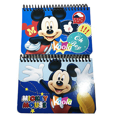 2x Disney Mickey Mouse  Party Favors Autograph Memo Pad Mini Note Book blue](Mini Mouse Party)