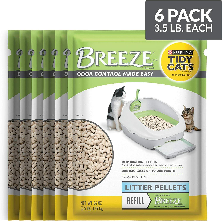 Purina Tidy Cat BREEZE Litter System Refills 6 pack- 3.5 lb