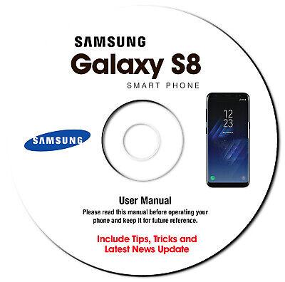 Samsung Galaxy S8-S8 Plus (SM-G955F-SM-G955FD) User Manual Guide CD - US CELULAR comprar usado  Enviando para Brazil