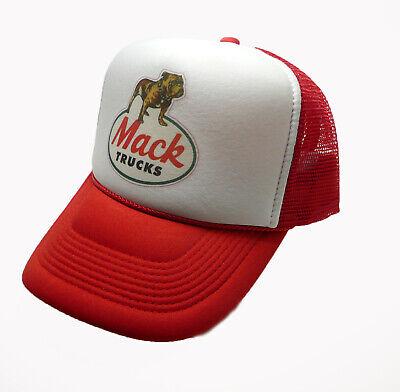 Mack Trucks Hat Original trucker hat adjustable snapback bulldog truck hat New](Mack Truck Hats)