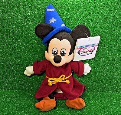 59f87ec9850 NEW Disney Store FANTASIA Bean Bag SORCERER MICKEY Plush Toy MWMT - Ships  FREE