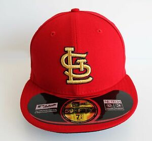 New-Era-5950-St-Louis-Cardinals-World-Series-GOLD-2012-MLB-Baseball-Cap-Hat
