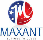Maxant Cover Buttons and Buckles