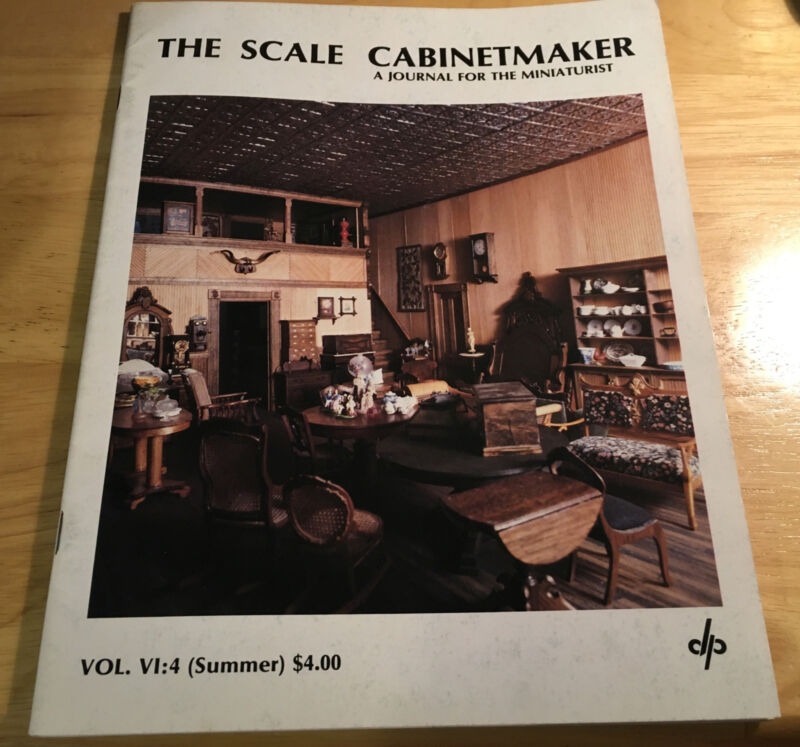 The Scale Cabinetmaker August 1982