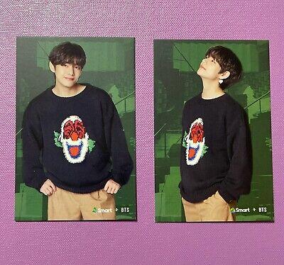 Rare Official BTS Limited Smart — V Taehyung Photocard A & B Set