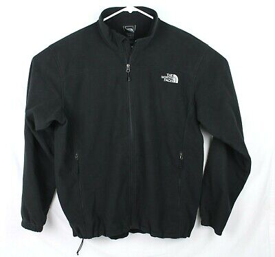 The North Face Medium Weight Black Fleece Jacket Men's XL