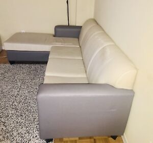 L Shaped Couch - Free - Must Go - Pickup Only