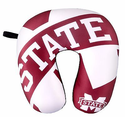 MISSISSIPPI STATE TRAVEL NECK PILLOW 12
