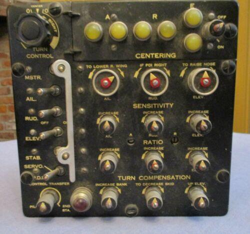 Minneapolis-Honeywell C-1 Autopilot Control Panel