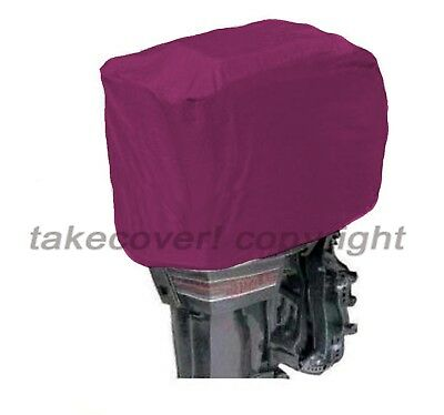50 to 115 HP Boat Outboard Motor Engine Cover BLACK Universal Trailerable R15