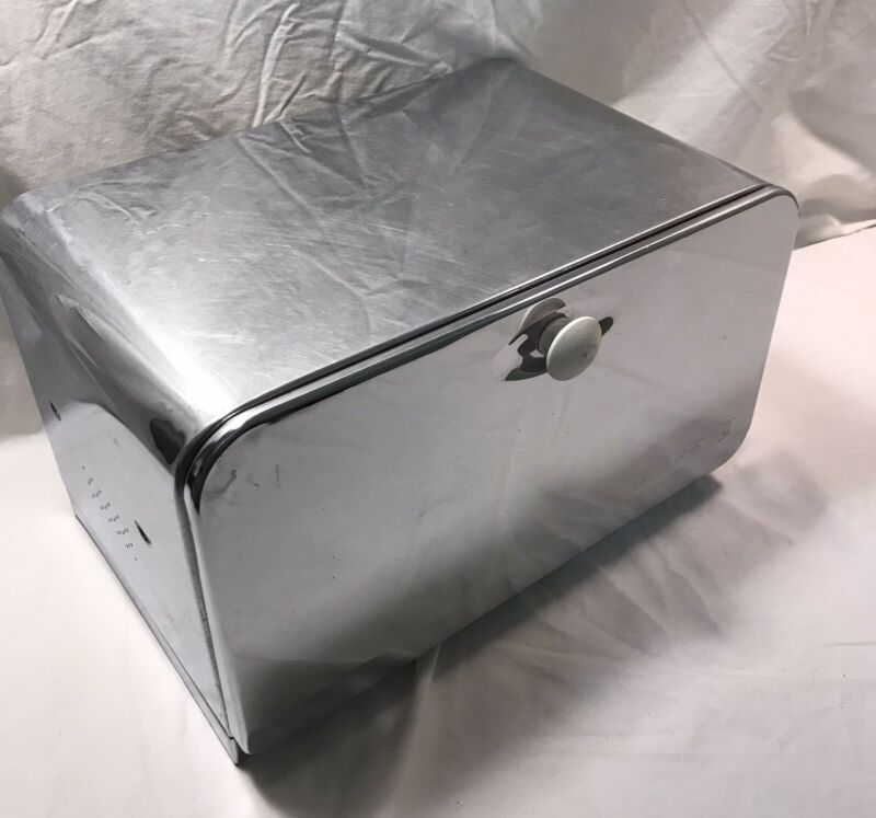 Stainless Steel Bread Box Beauty Box By Lincoln