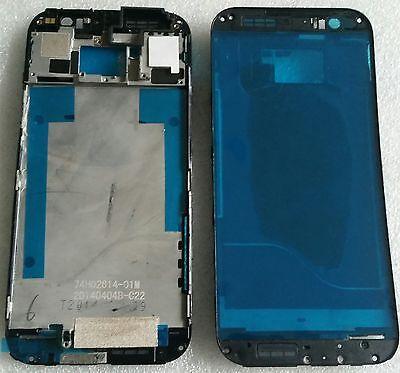 LCD Rahmen Bezel Frame Gehäuse Schale Cover Housing Display Grau für HTC One M8 Bezel Frame Cover