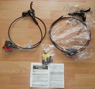 SHIMANO DEORE XT BL-M8000 u. BR-M8000, Scheibenbremsen Set, VR 920 / HR...