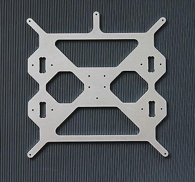 Prusa i3 Steel Druckbettaufnahme Alu 5mm RepRap 3D Drucker Prusa Steel i3