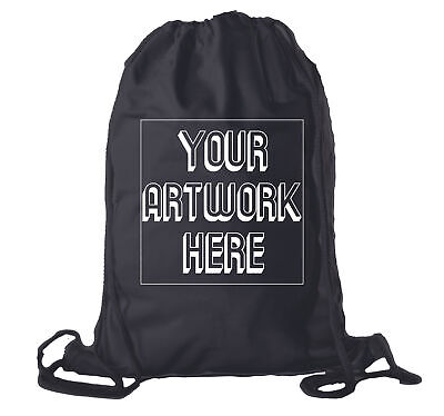 Wholesale Custom Drawstring Backpacks, Personalized Promotional Cotton Bags (Wholesale Customes)