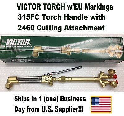 Victor 315fc Torch Handle Wca2460 Cutting Attachment Weu Mark Excess Stock