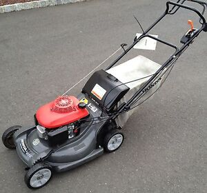 honda harmony hrb  speed  propelled lawnmower  rear bagger ebay