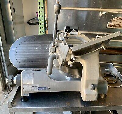Hobart Commercial 2612 Manual Slicer 12 Blade New Sharpener Included