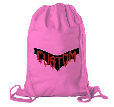 Custom Candy Bags (Custom Vampire Custom Bags, Halloween Candy Bags, Halloween Party Cotton)