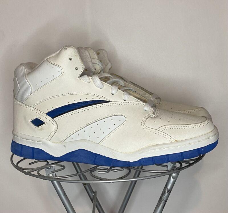 Vintage Vtg 1993 90s LA Gear Sneakers Mens 11 White Royal