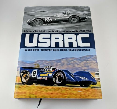 USRRC A RECORD OF THE CHAMPIONSHIP 1963-1968 by Mike Martin