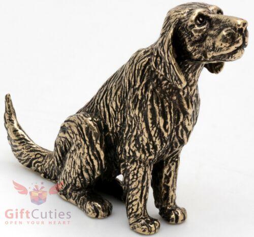 Bronze Figurine of Golden Retriever dog