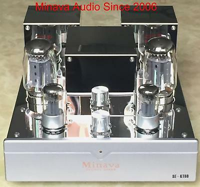 Kt88 Single Ended Integrated Vacuum Tube Amplifier Class A Hifi Audio High Power