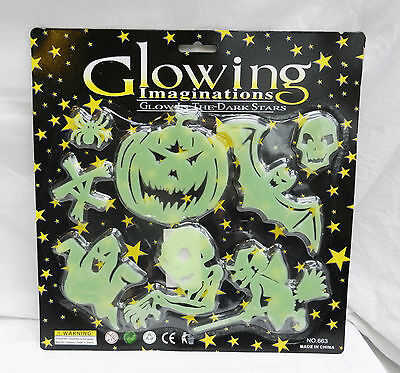 Glowing Imaginations - Glow in the Dark Stickers - Spooky Halloween Stuff ()