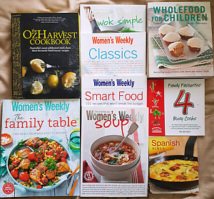 Cook book bundle Figtree Wollongong Area Preview