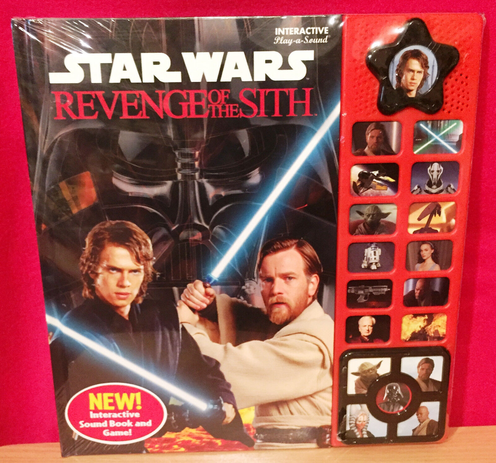 Star Wars Revenge Of The Sith Interactive Play A Sound Book 42799734872 Ebay