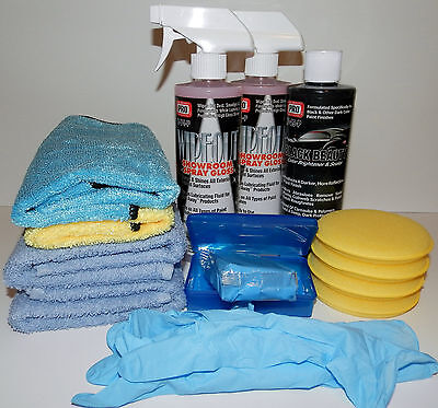 Best Wax For Black & DARK Cars - CAR WAX - Paint Correction Set ~ HUGE BUNDLE (Best Wax For Black Cars)