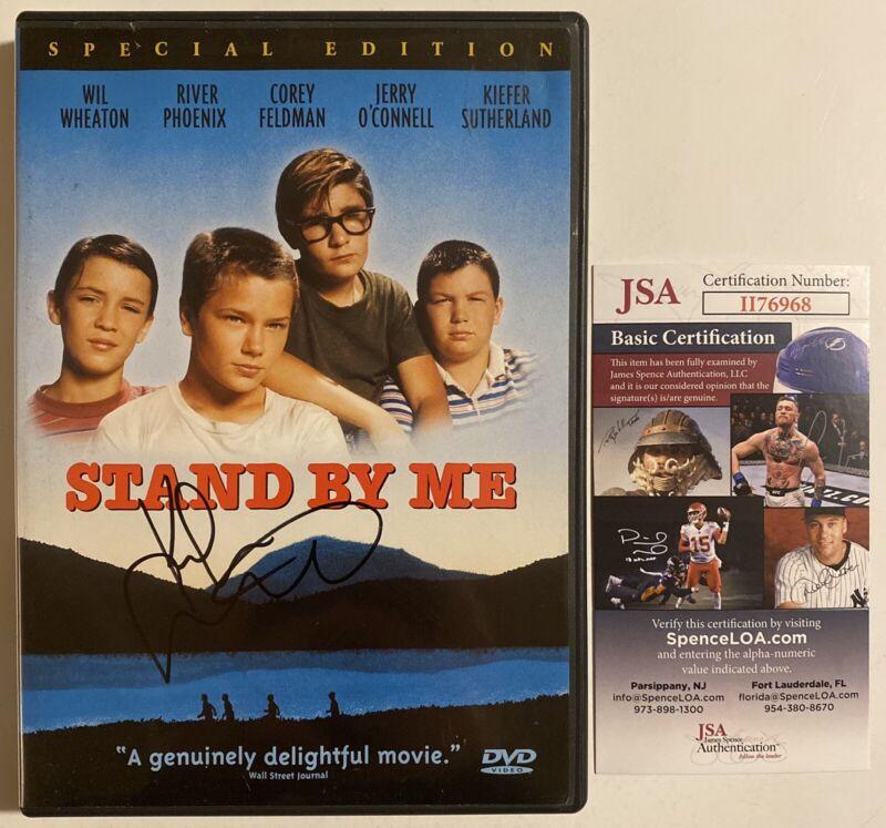 Stand By Me Signed Autographed DVD Kiefer Sutherland JSA COA