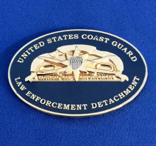 US Coast Guard Tactical Law Enforcement Detachment USCG TACLET Challenge Coin
