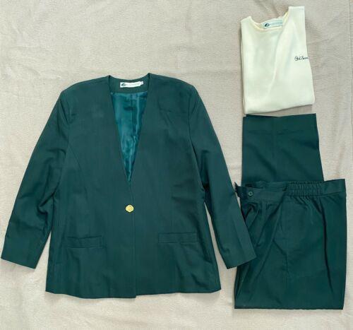 Girl Scout Adult Blazer Slacks and Sweater Blouse set