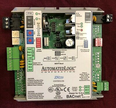 Automated Logic Zn220 - Bacnet Programmable Controller