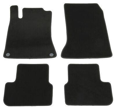 Fußmatten für Mercedes A-Klasse W176 AMG 4Matic Velours Qualität Autoteppiche