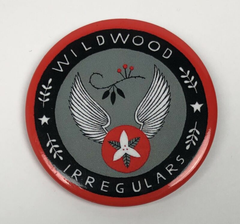 """Wildwood Irregulars"" Promo Button Colin Meloy Carson Ellis The Decemberists"