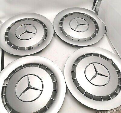 4x Original Mercedes Benz Radkappen W126 S SE SEL Klasse 1264010824 14 Zoll NEU