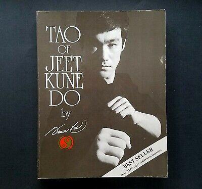 Tao of Jeet Kune Do, Bruce Lee Paperback Martial Arts 1990