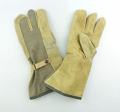 #e7234 1 Paar original alte NVA Handschuhe