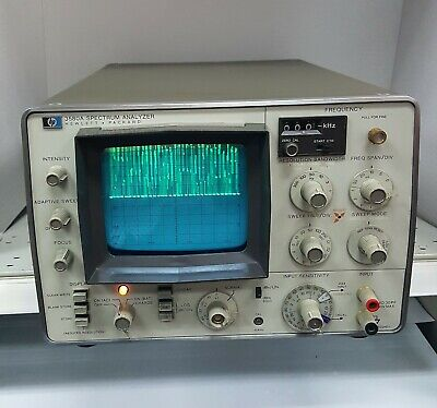 Hp 3580a 5hz-50khz Slow Sweep Low Frequency Digital Storage Spectrum Analyzer