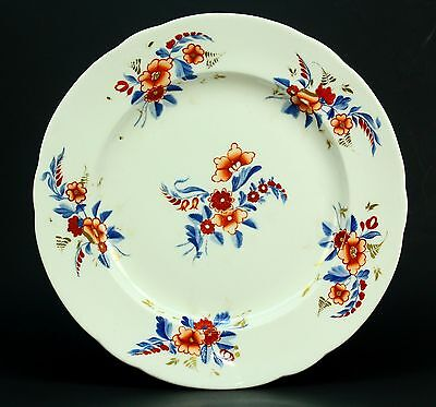 *c.1782-1825 Antique DERBY Signed Hand Painted Porcelain Plate English