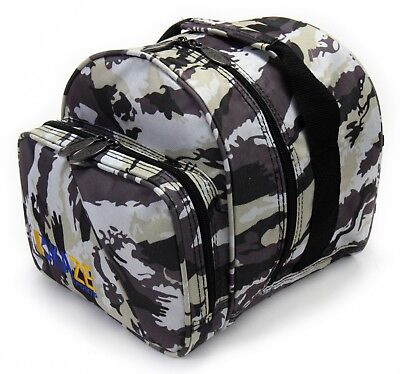 KAZE SPORTS 1 Ball Bowling Bag Add On Tote Spare Kit Single Bag Joey One Camo